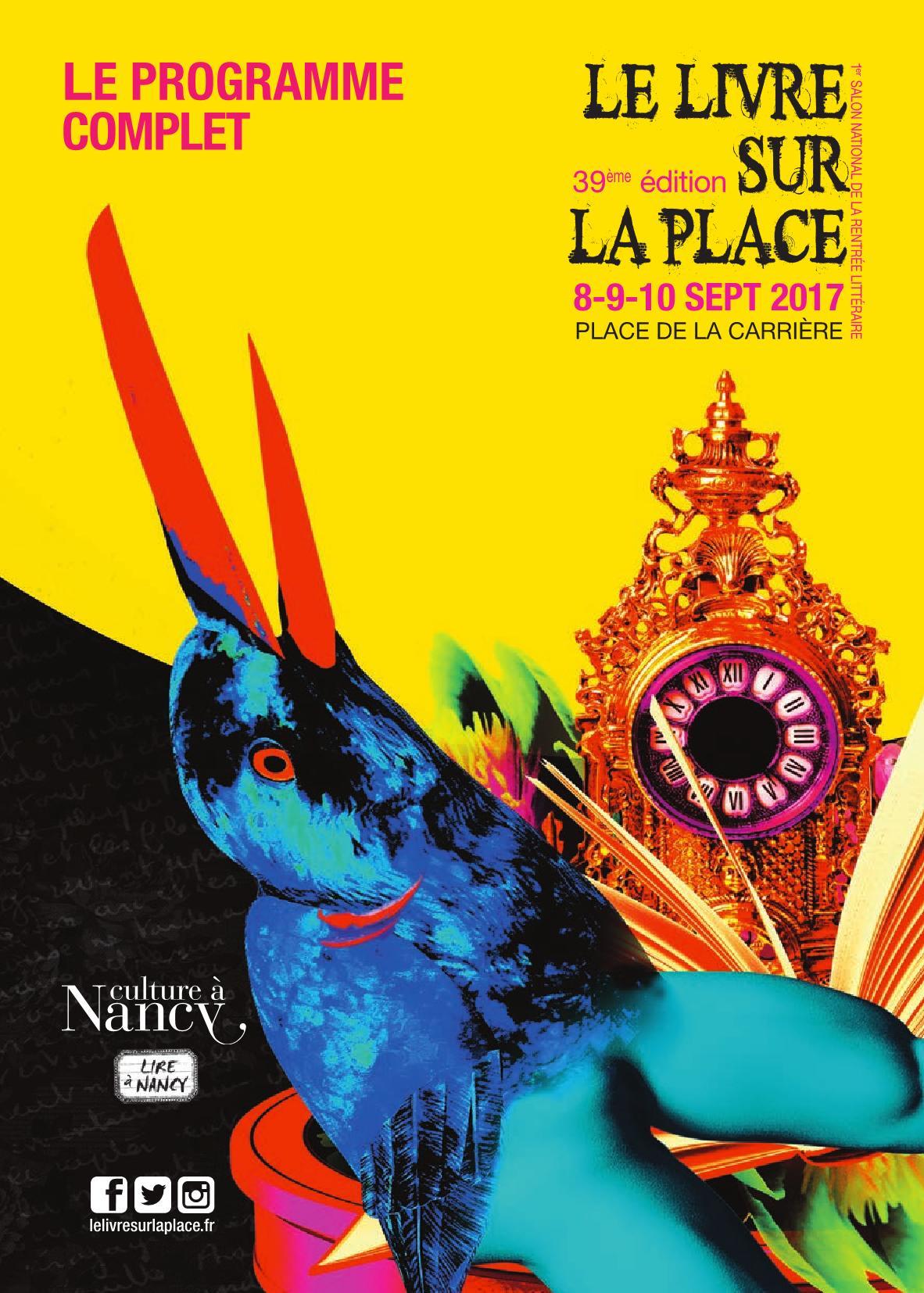 Livre sur la Place Nancy 2017