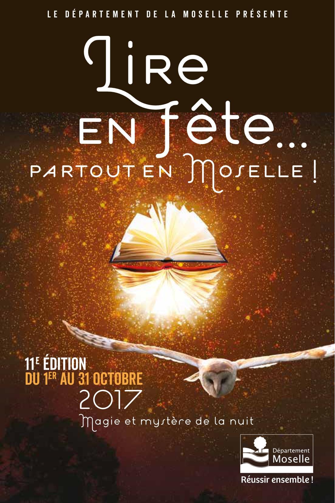 Programme Lire en Fête Moselle 2017