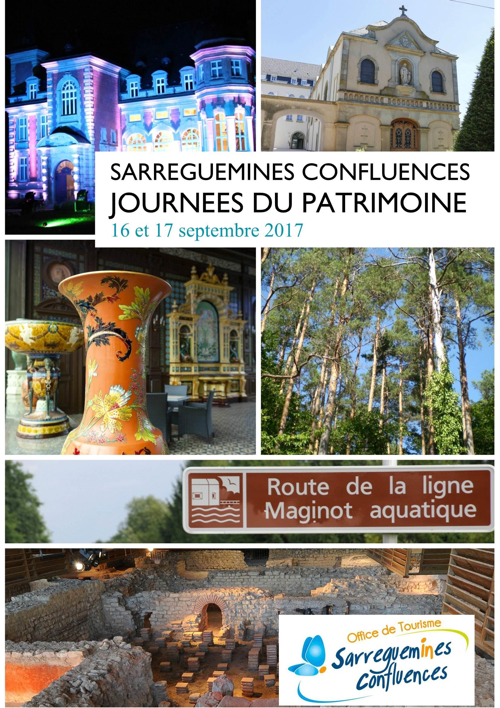 Journées du Patrimoine 2017 Sarreguemines