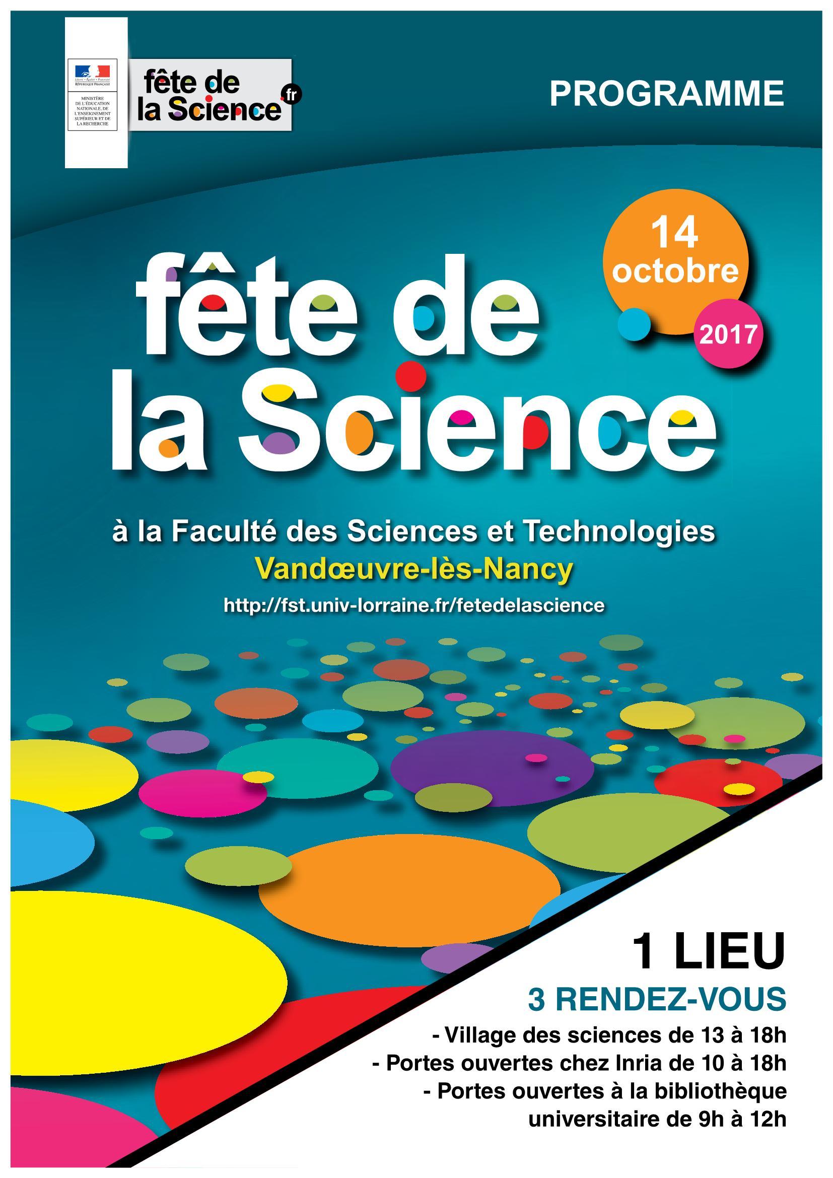 Village de la Science à Vandoeuvre-lès-Nancy