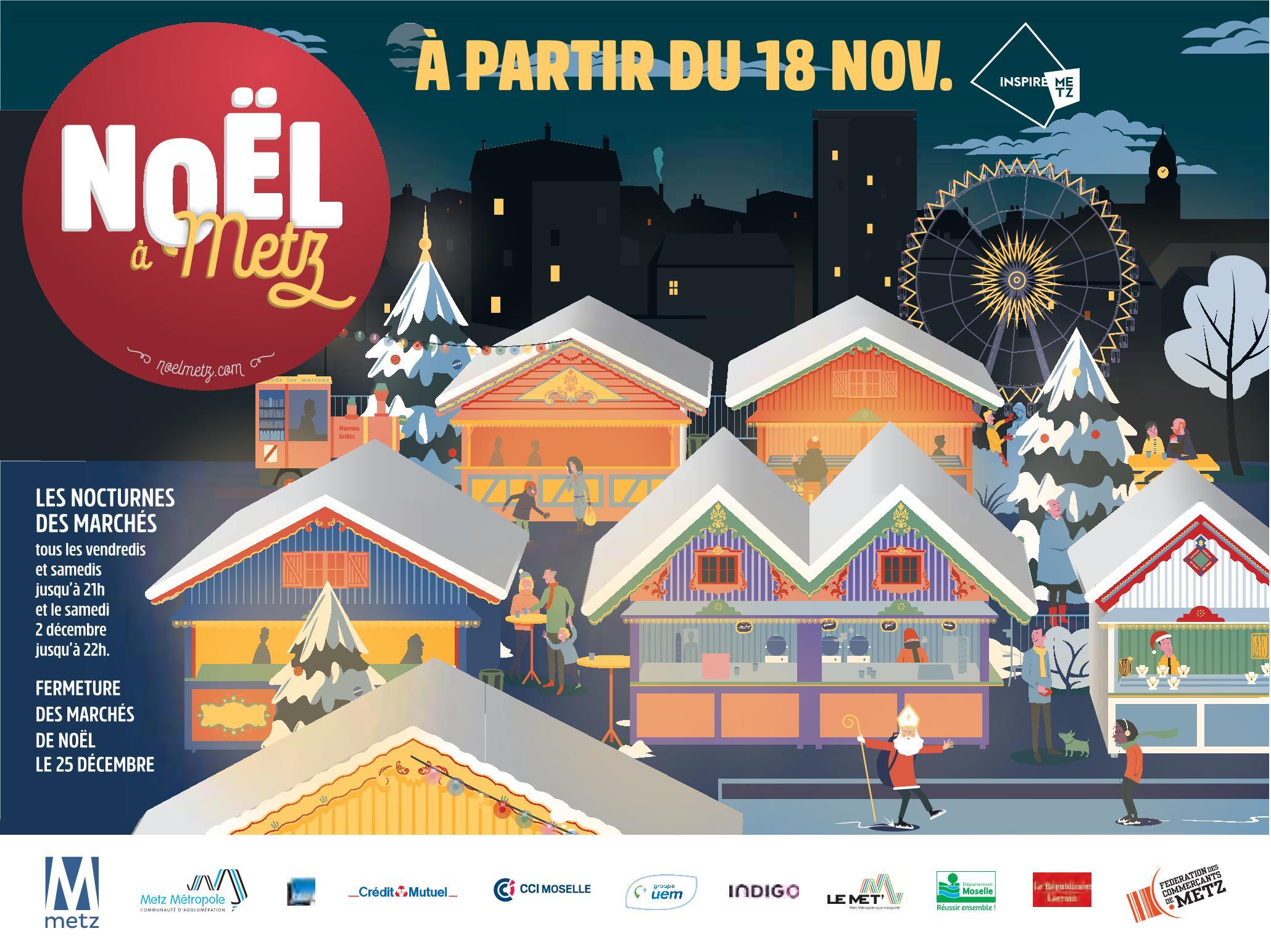 Programme Marché de Noël Metz 2017