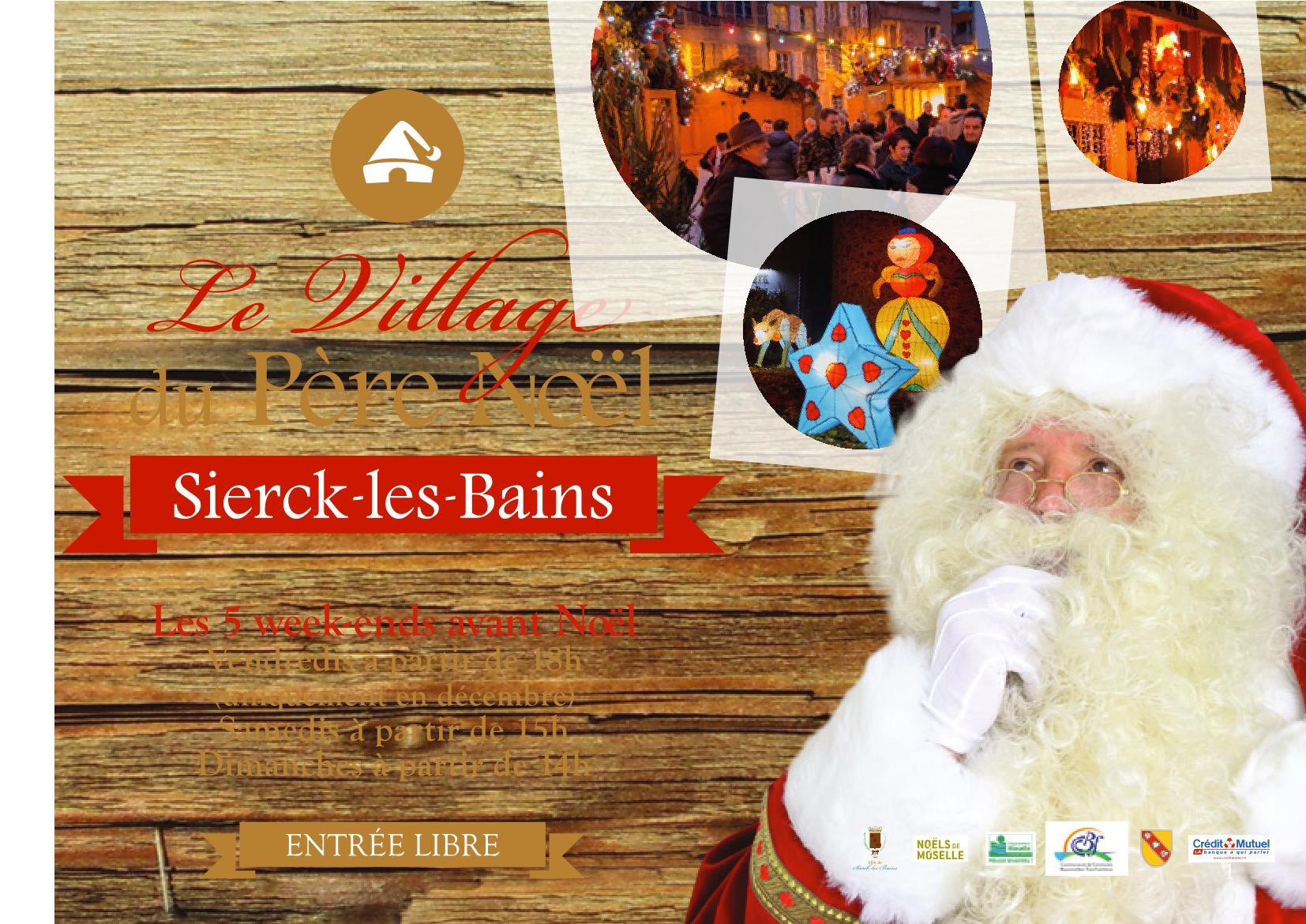 Programme Village de Noël 2017 à Sierck-lès-Bains