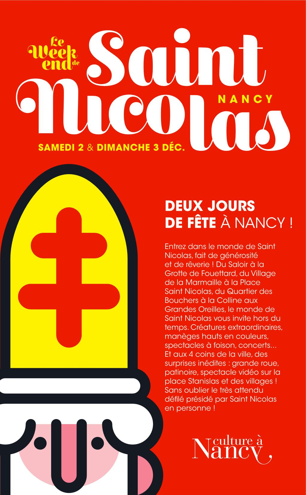 Programme de la Saint Nicolas 2017 à Nancy