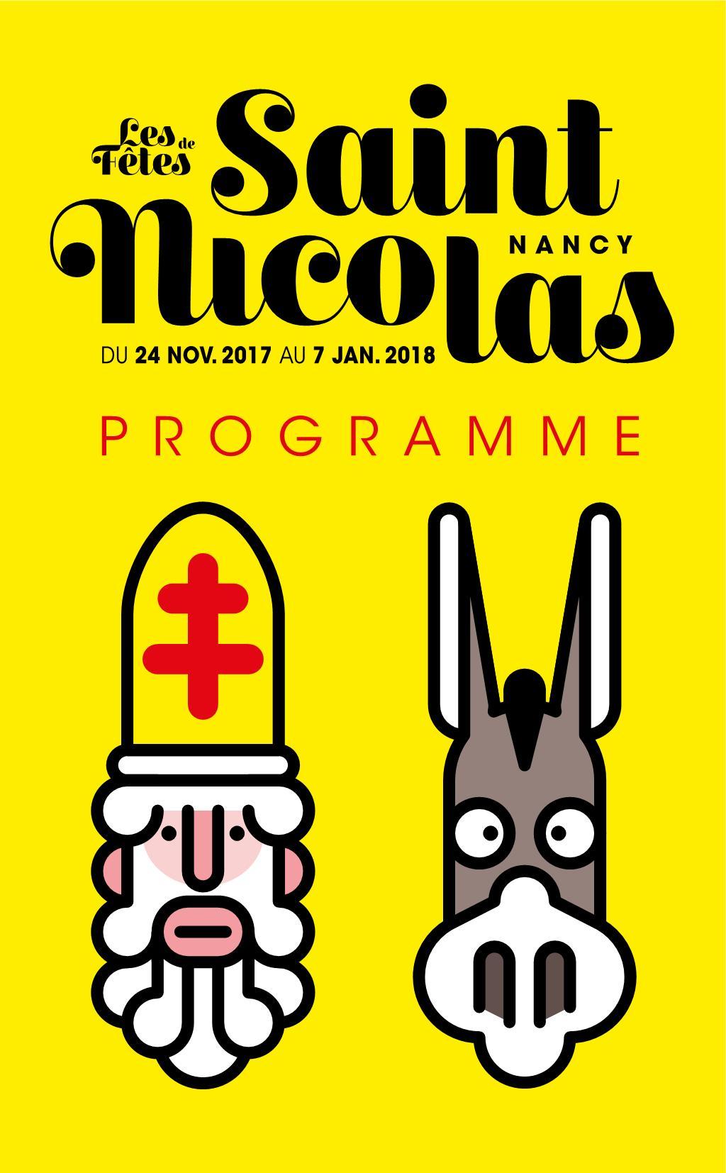 Programme Fêtes de Saint Nicolas Nancy 2017