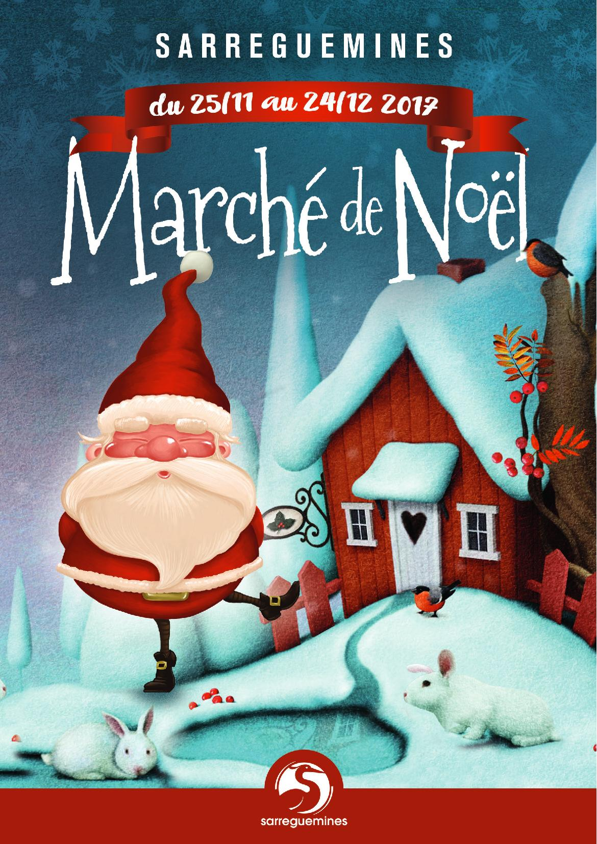 Marché de Noël Sarreguemines 2017