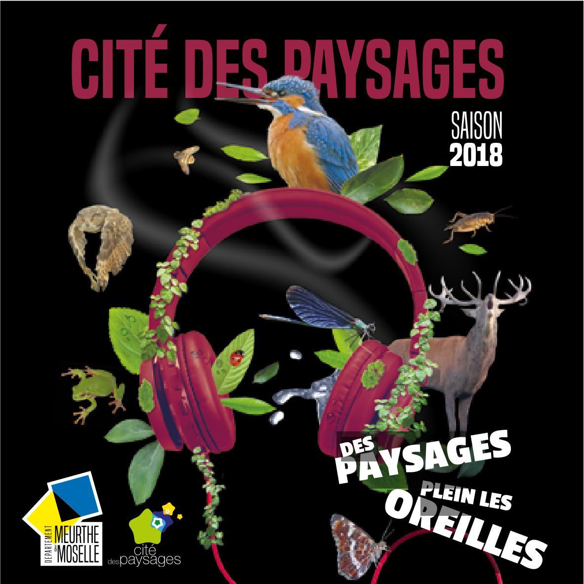 Cité des paysages de Sion Programme 2018