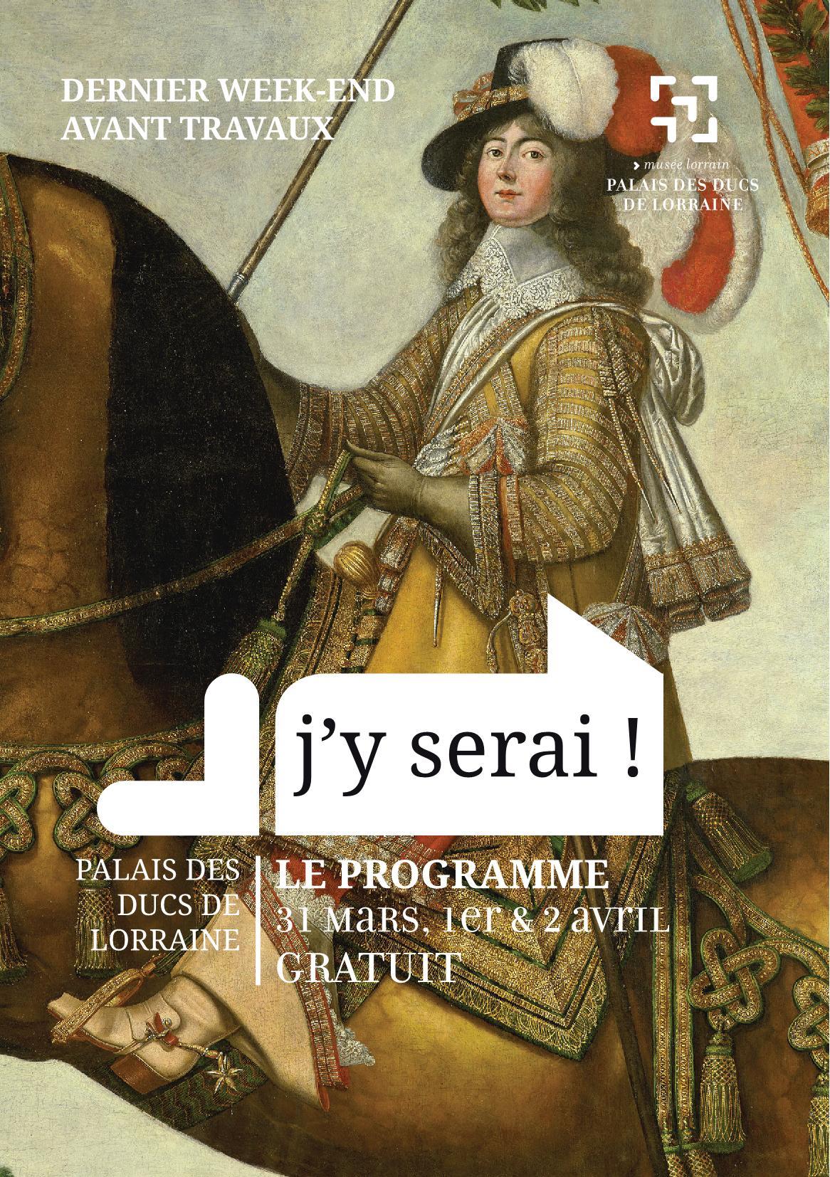 Programme J'y Serai Dernier Week End Avant Travaux