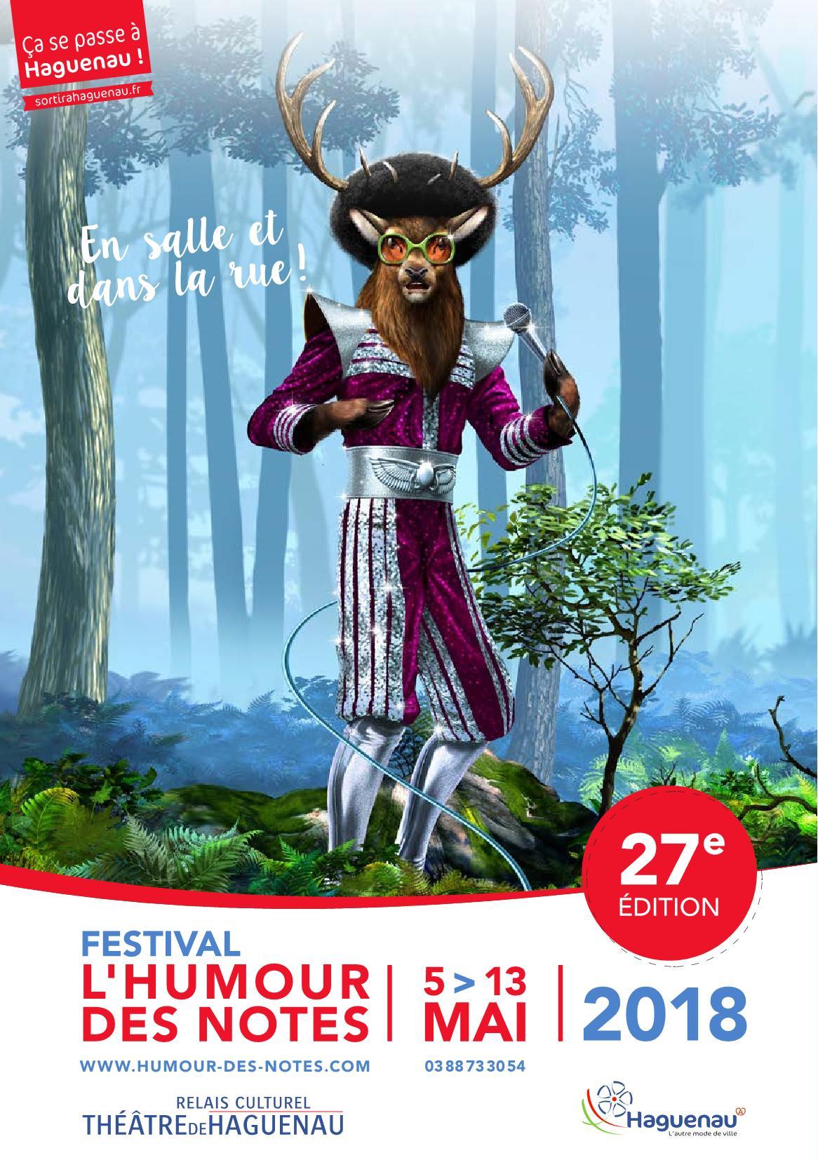 Programme Festival L'Humour des Notes 2018
