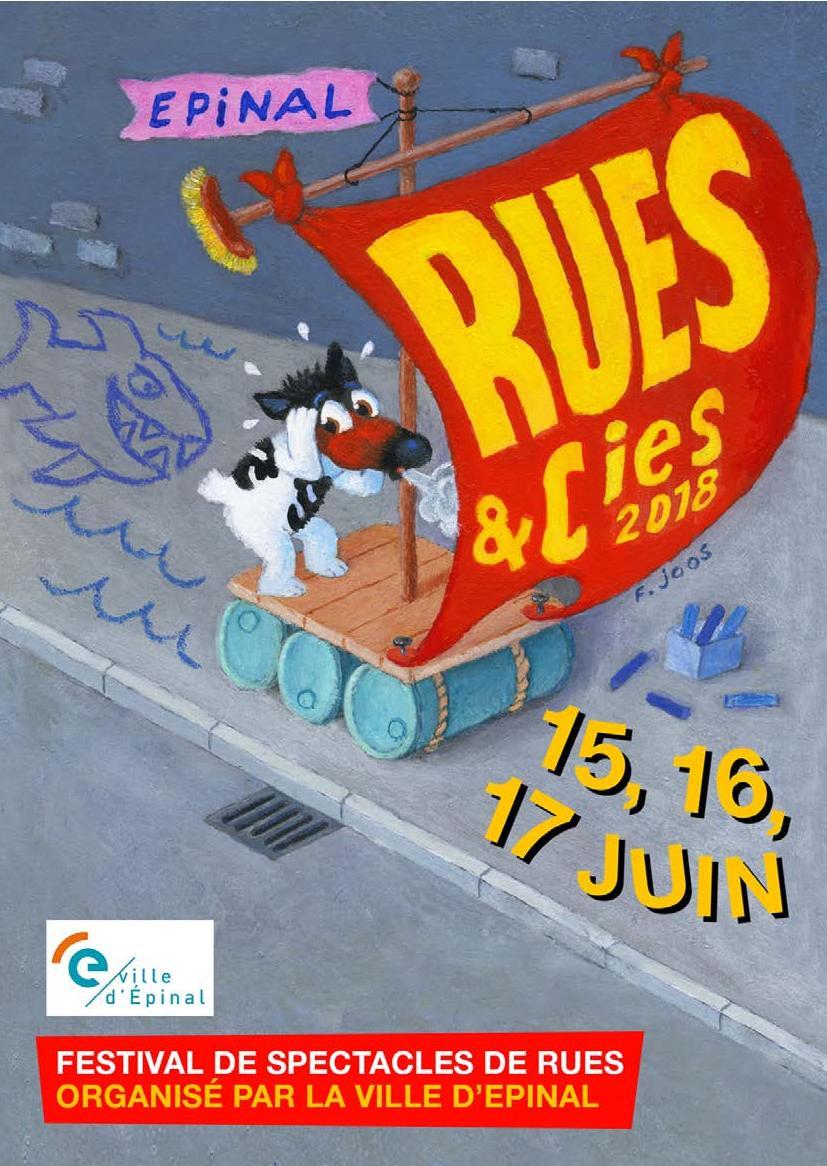 Programme Festival Rues et Cies Epinal