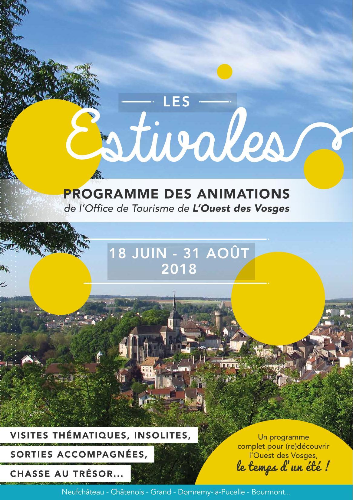 Programme Estivales 2018 Neufchâteau