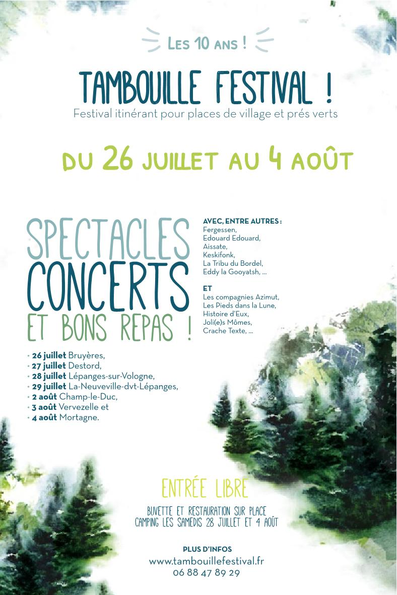 Programme Tambouille Festival