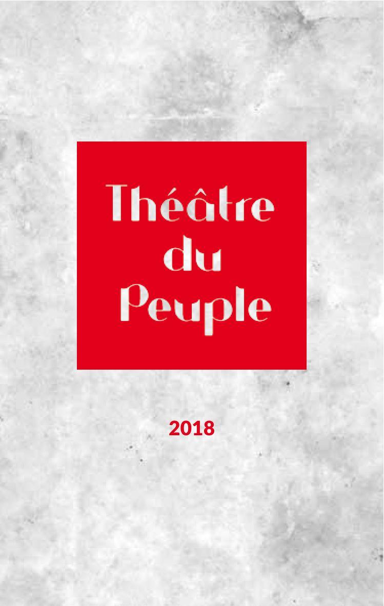 Programme Théâtre du peuple Bussang été 2018