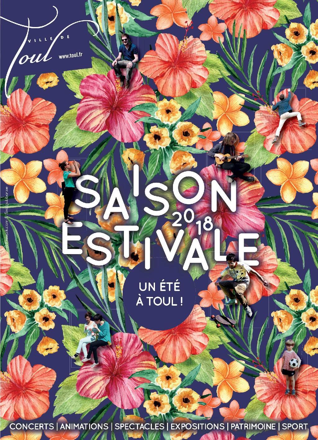 Programme Saison Estivale 2018 Toul