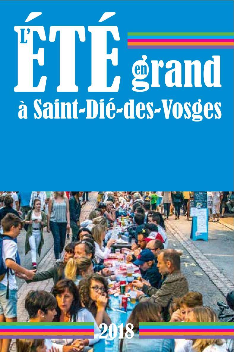 Programme Été Grand Saint-Dié-Des-Vosges 2018