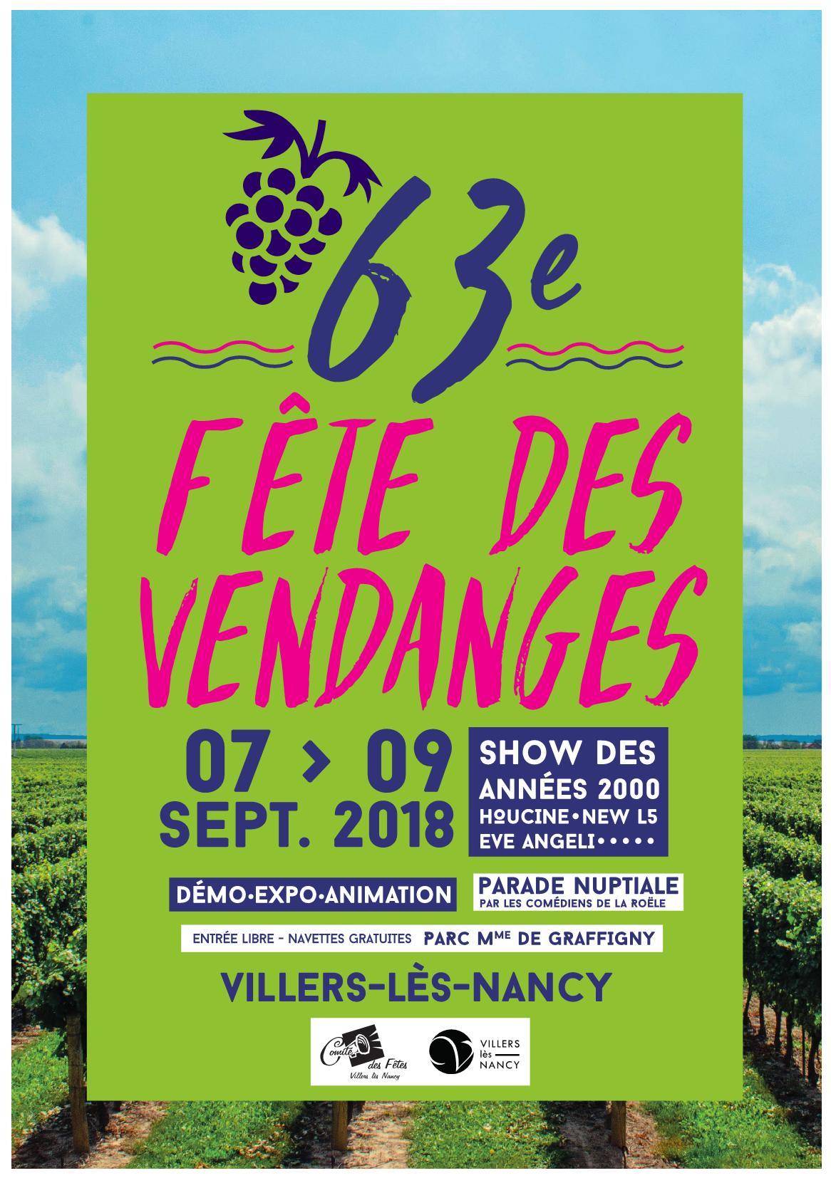 Programme Fête Vendanges 2018