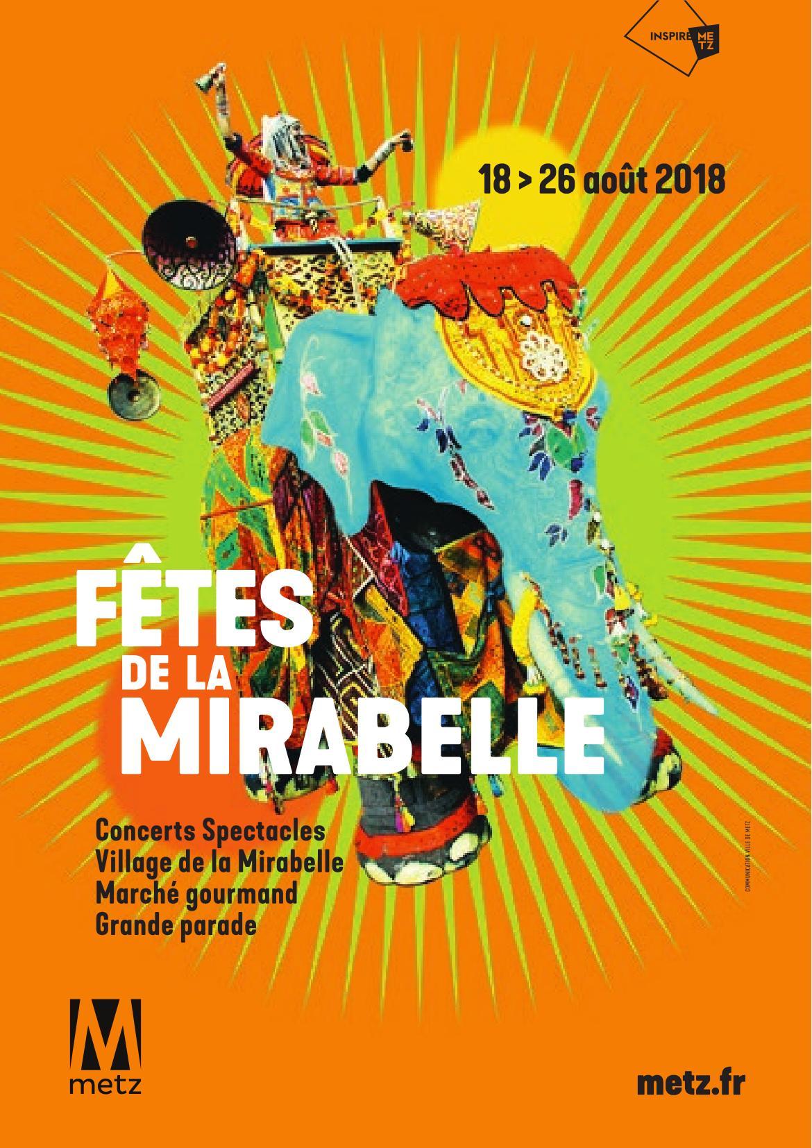Programme Fêtes Mirabelle Metz 2018