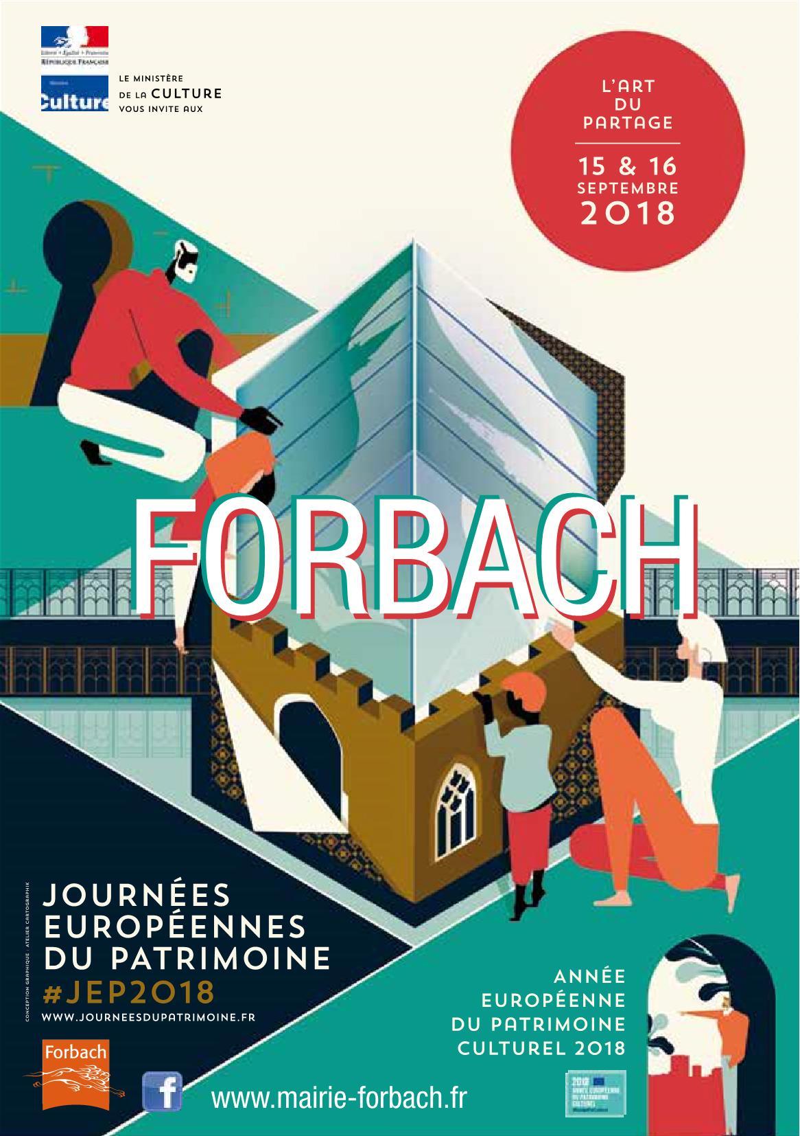 Journées Patrimoine Forbach 2018