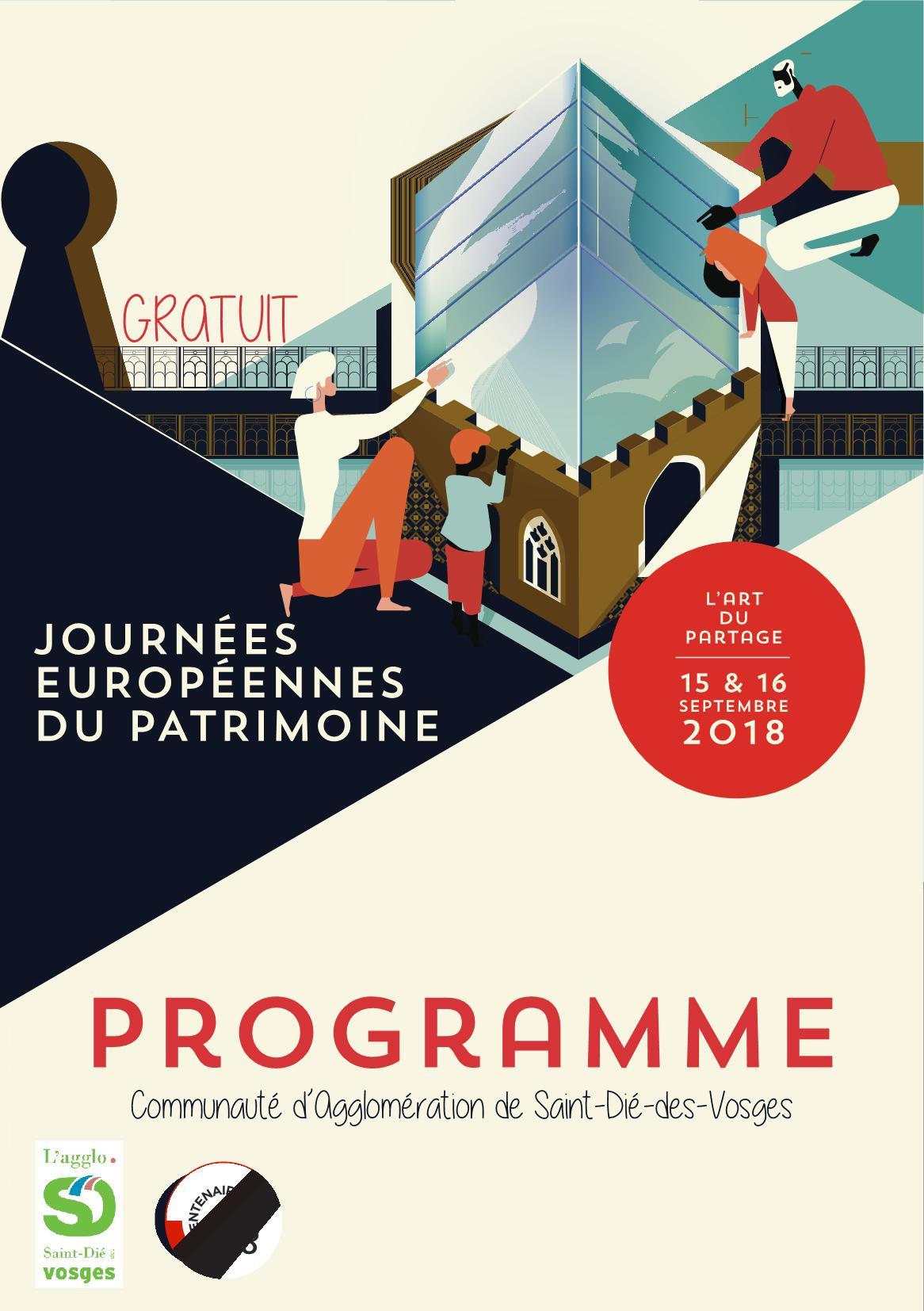 Programme Journées Patrimoine Saint-Dié-des-Vosges 2018