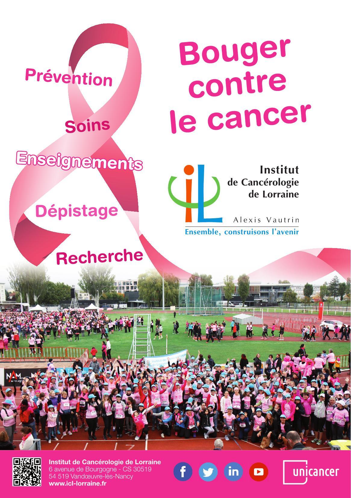 Programme Bouger Contre le Cancer en Lorraine