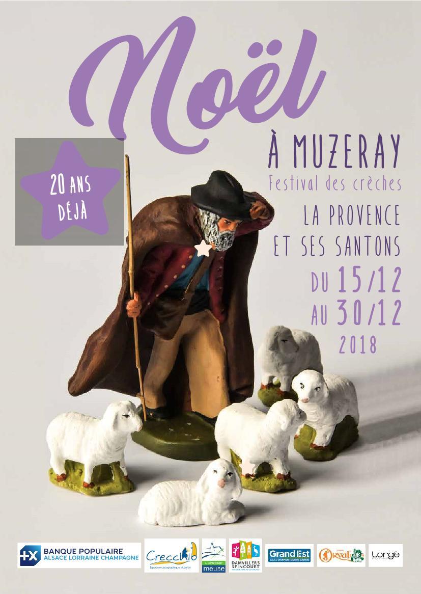 Festival des Crèches Musée de la Crèche Muzeray 2018