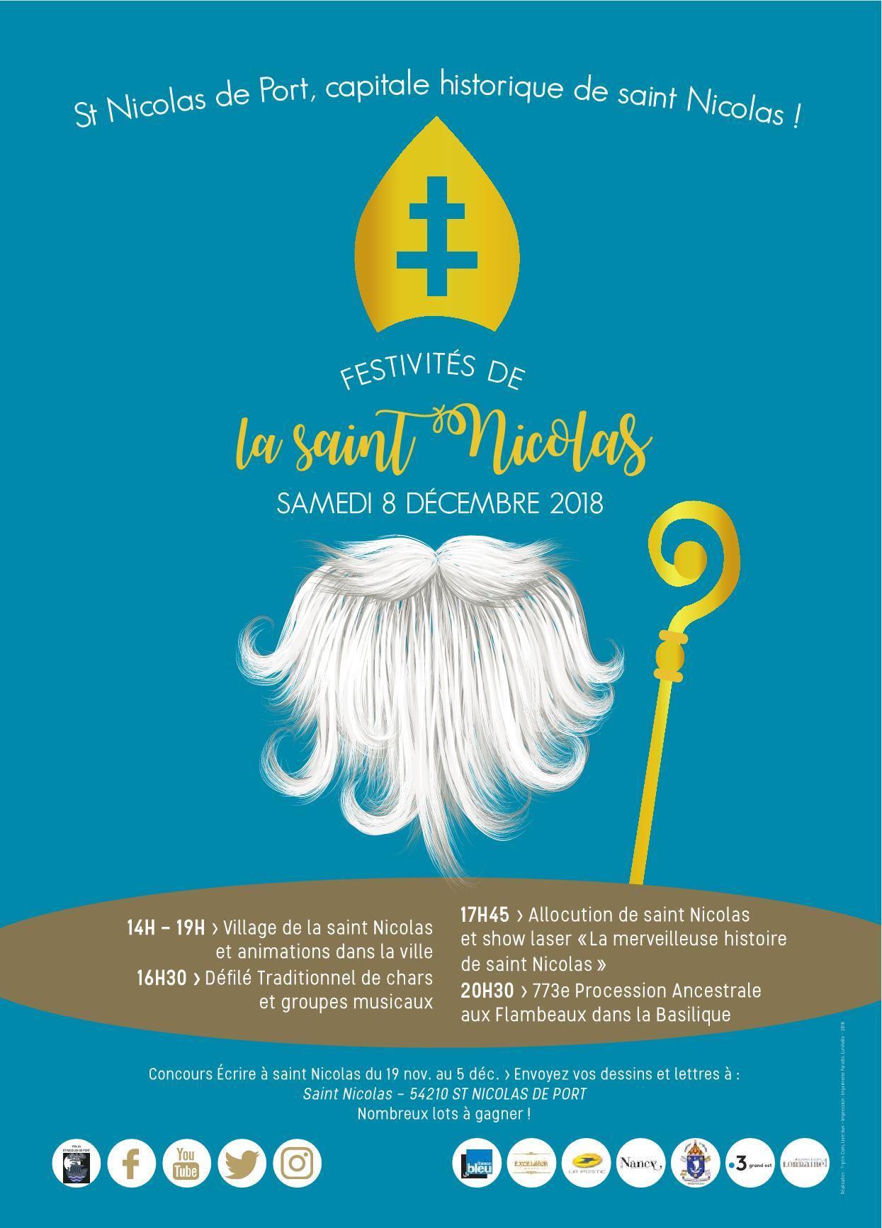 Festivités Saint-Nicolas à Saint-Nicolas-de-Port