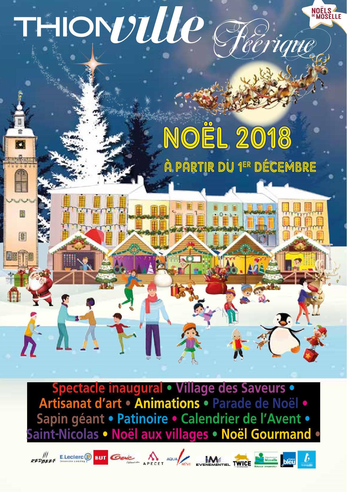 Festivités Noël à Thionville