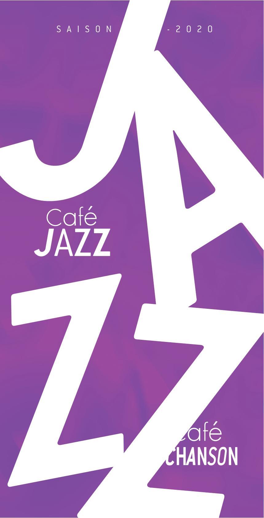 Saison Café Jazz Chansons Epinal 2019-2020