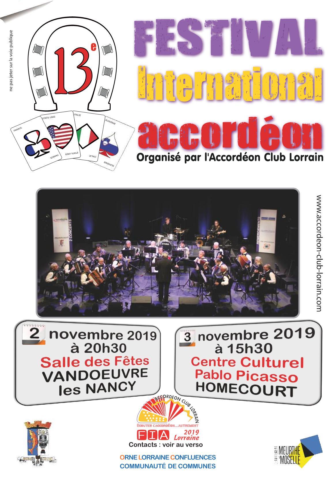 Festival International Accordéon 2019
