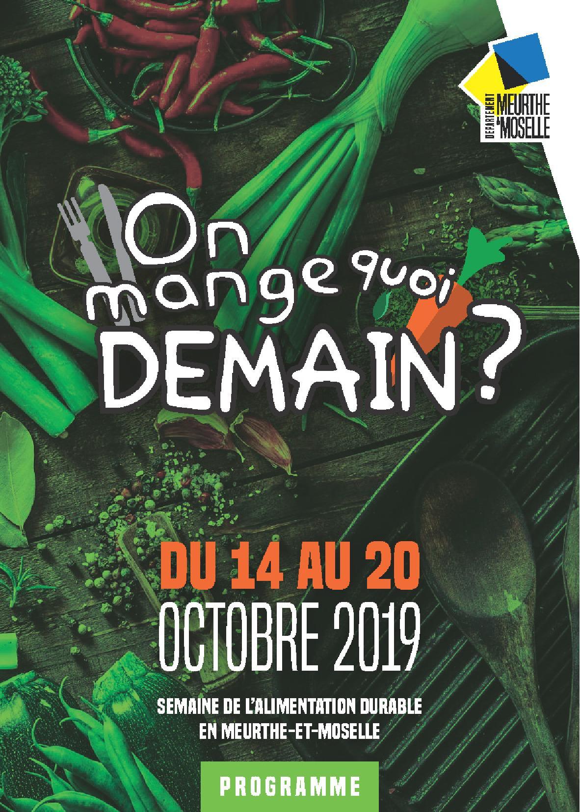 On mange quoi demain ? 2019 en Meurthe-et-Moselle
