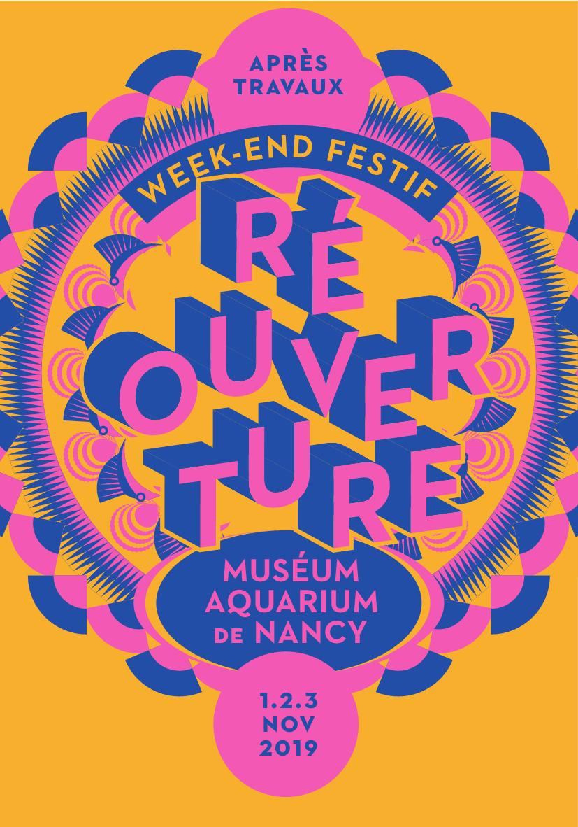 Réouverture Museum Aquarium Nancy MAN 2019