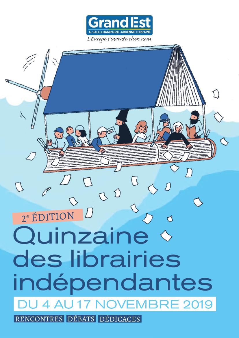 Quinzaine des Librairies Indépendantes 2019 Grand Est