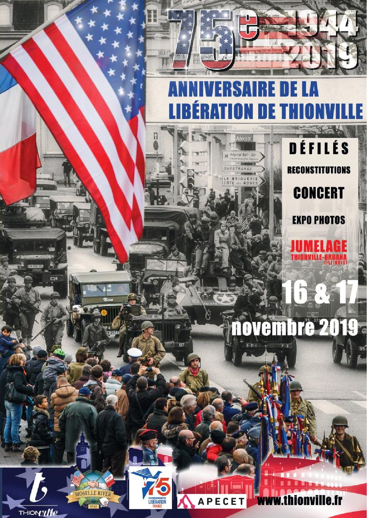 75e Anniversaire de la Libération de Thionville Programme
