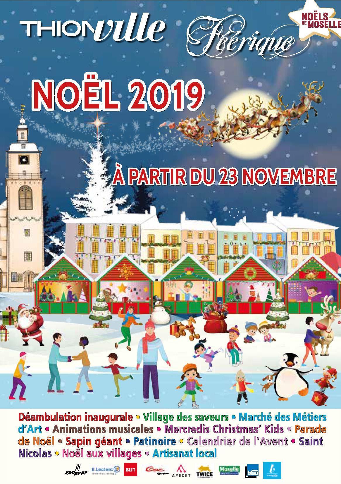 Marché de Noël Thionville 2019 Animations et Festivités