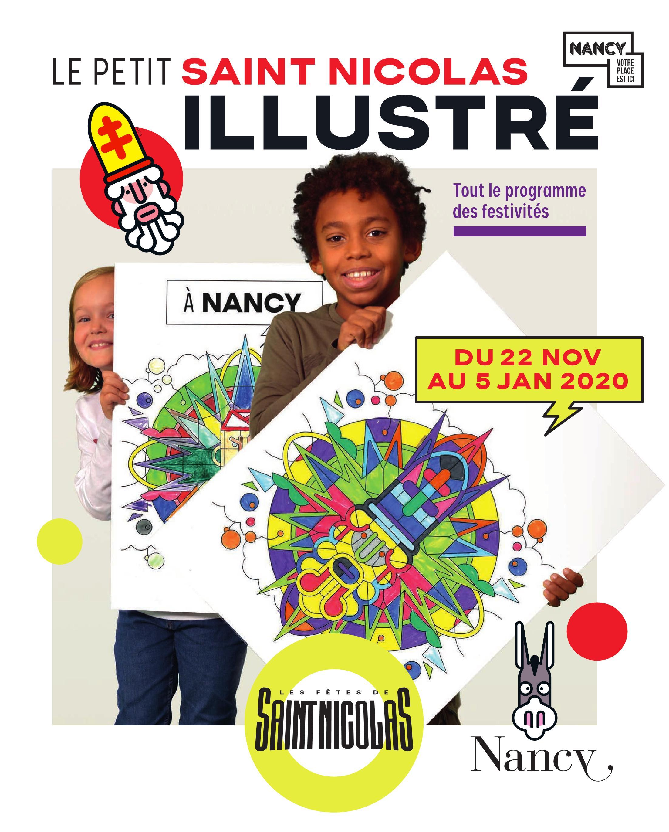 Marchés de Noël & Grand Village de la St-Nicolas Nancy 2019 Programme des festivités de Fin d'Année