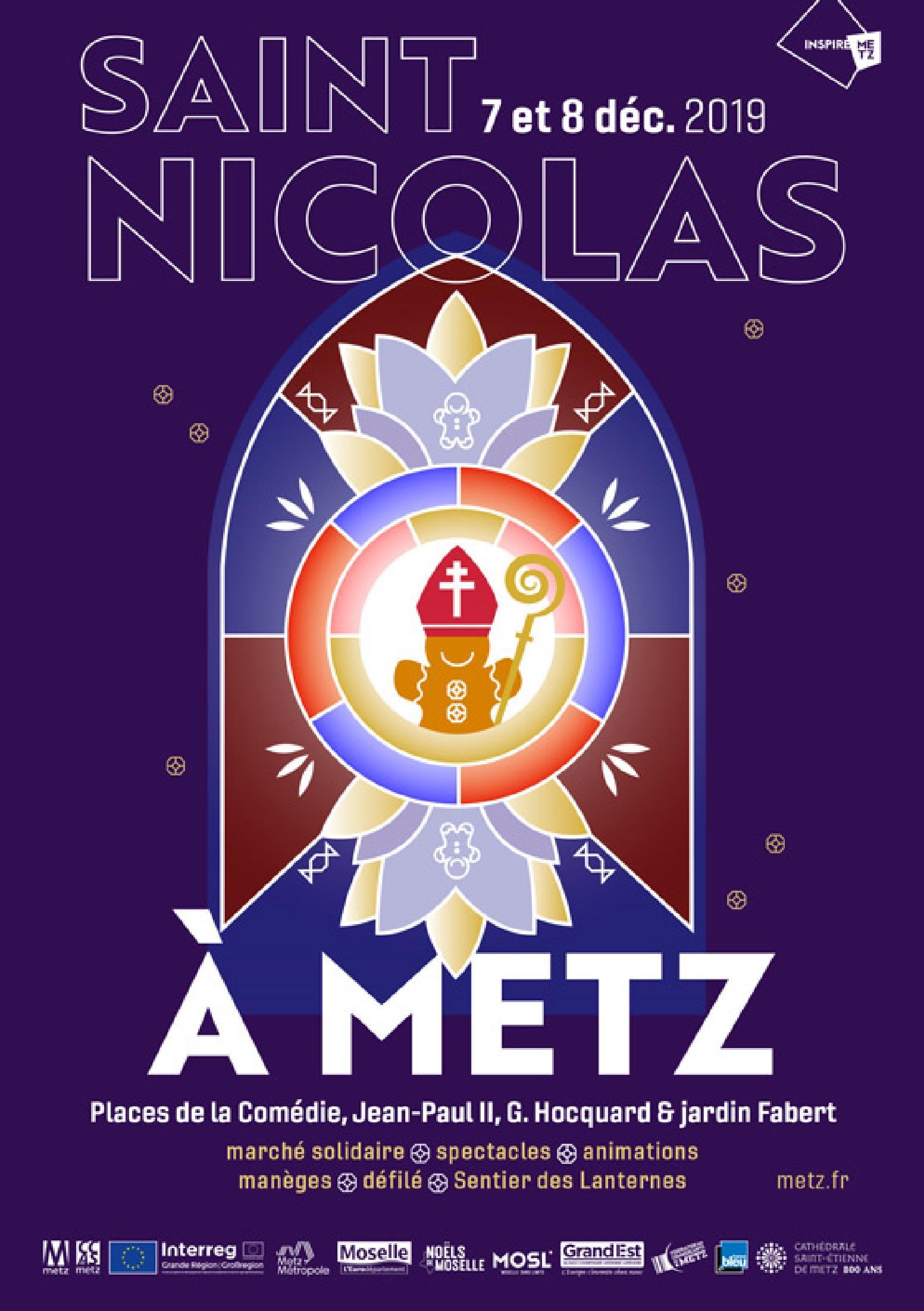 Saint-Nicolas Metz 2019 Programme des festivités