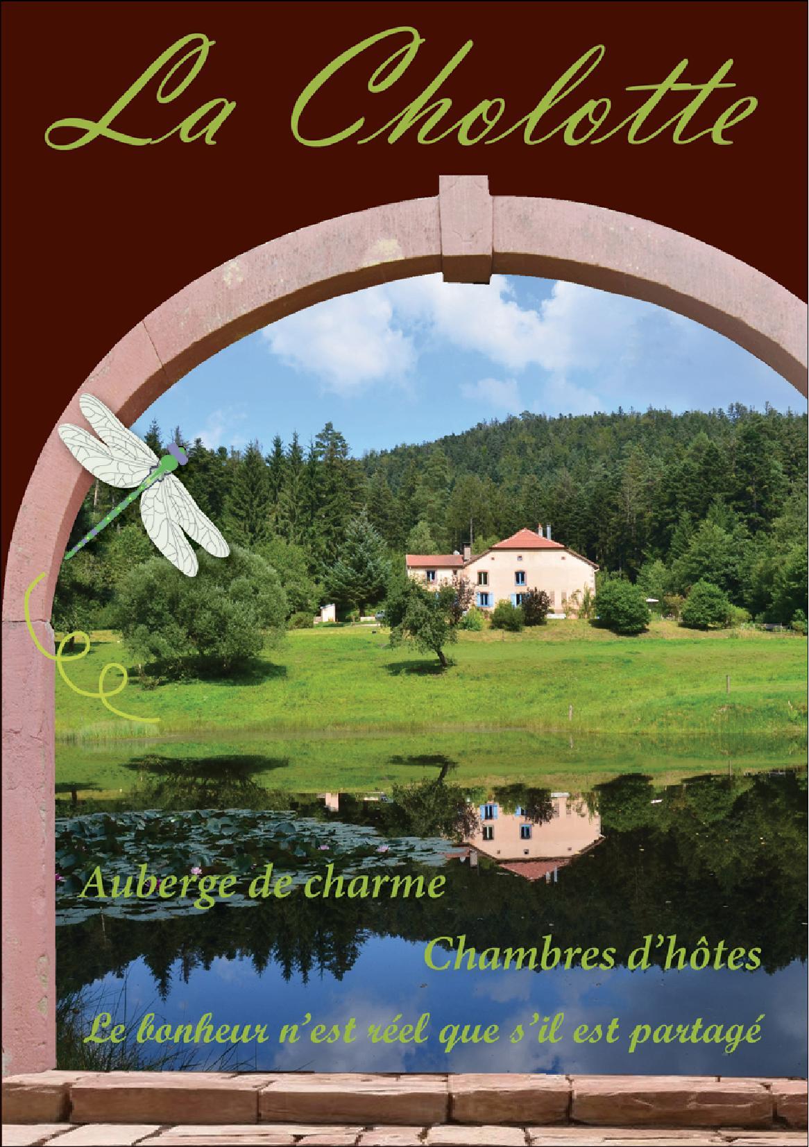 Auberge de la Cholotte Les Rouges-Eaux 2019 Bon Cadeaux Déjour de Charme