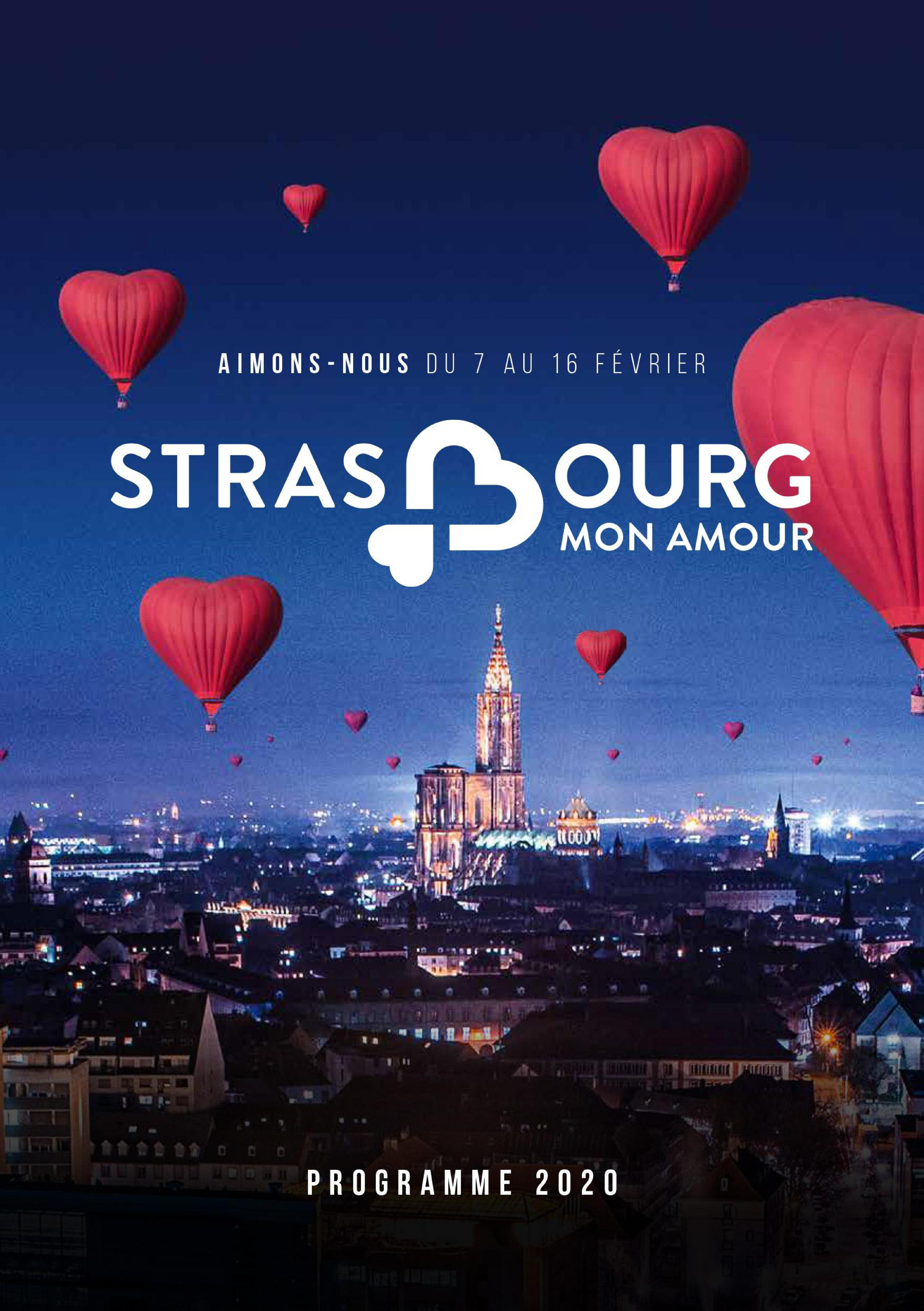 Strasbourg mon Amour Programme 2020