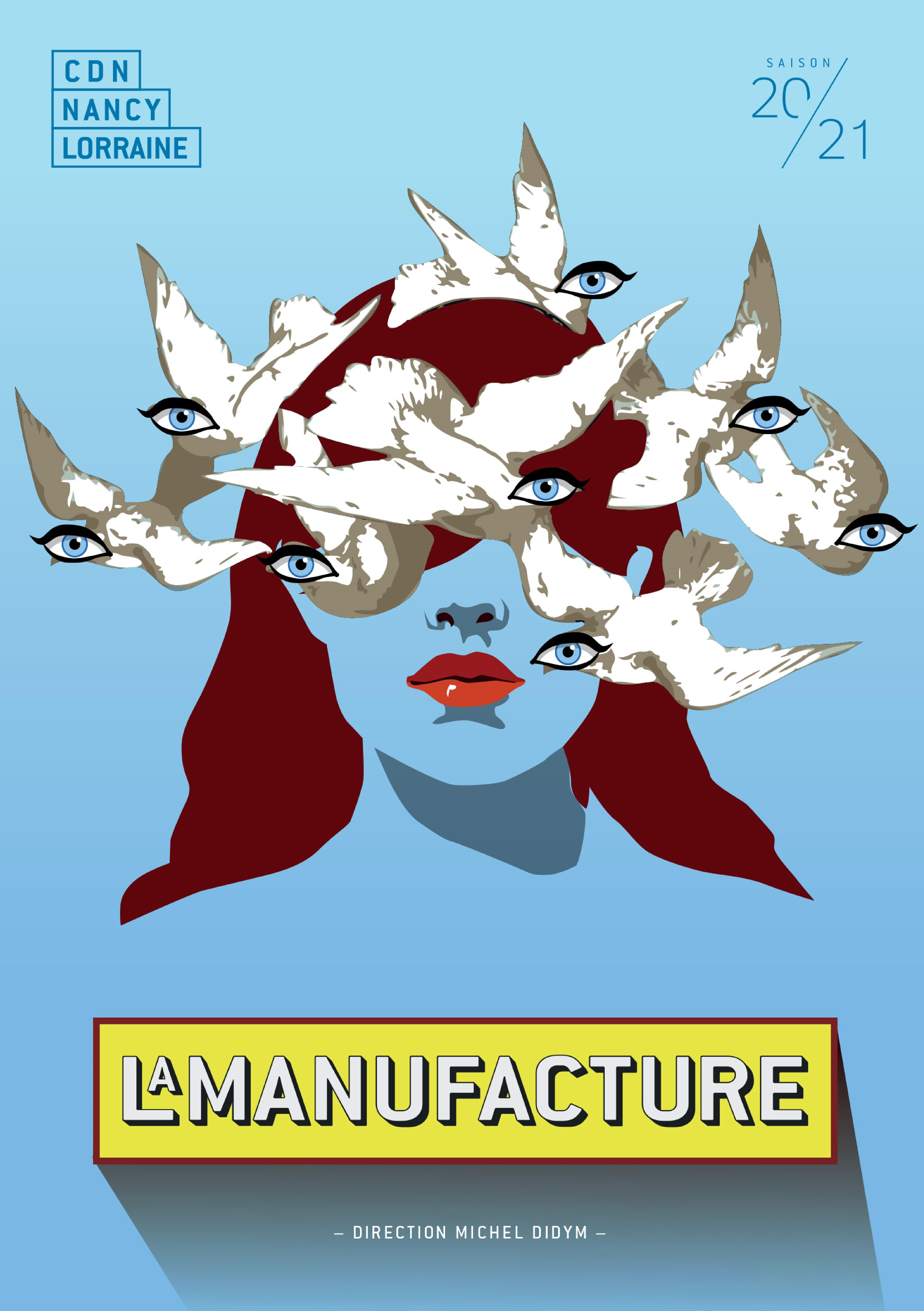 Saison Culturelle Manufacture de Nancy 2020-2021