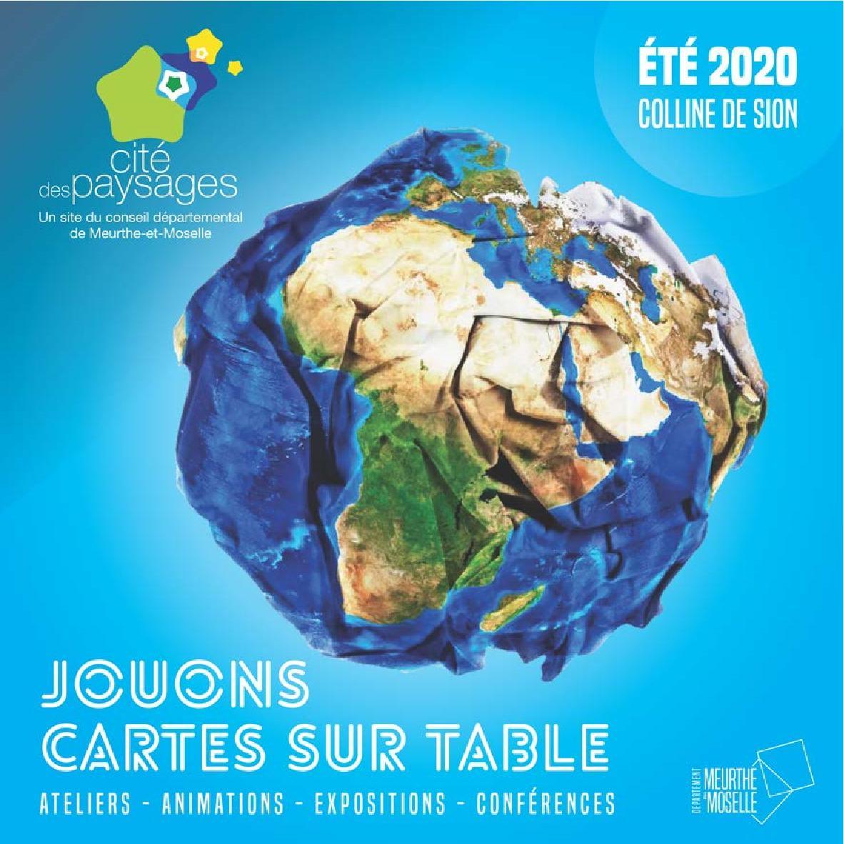 Cité des Paysages Saison 2020 Sion Ateliers, Animations, Expositions, Conférences