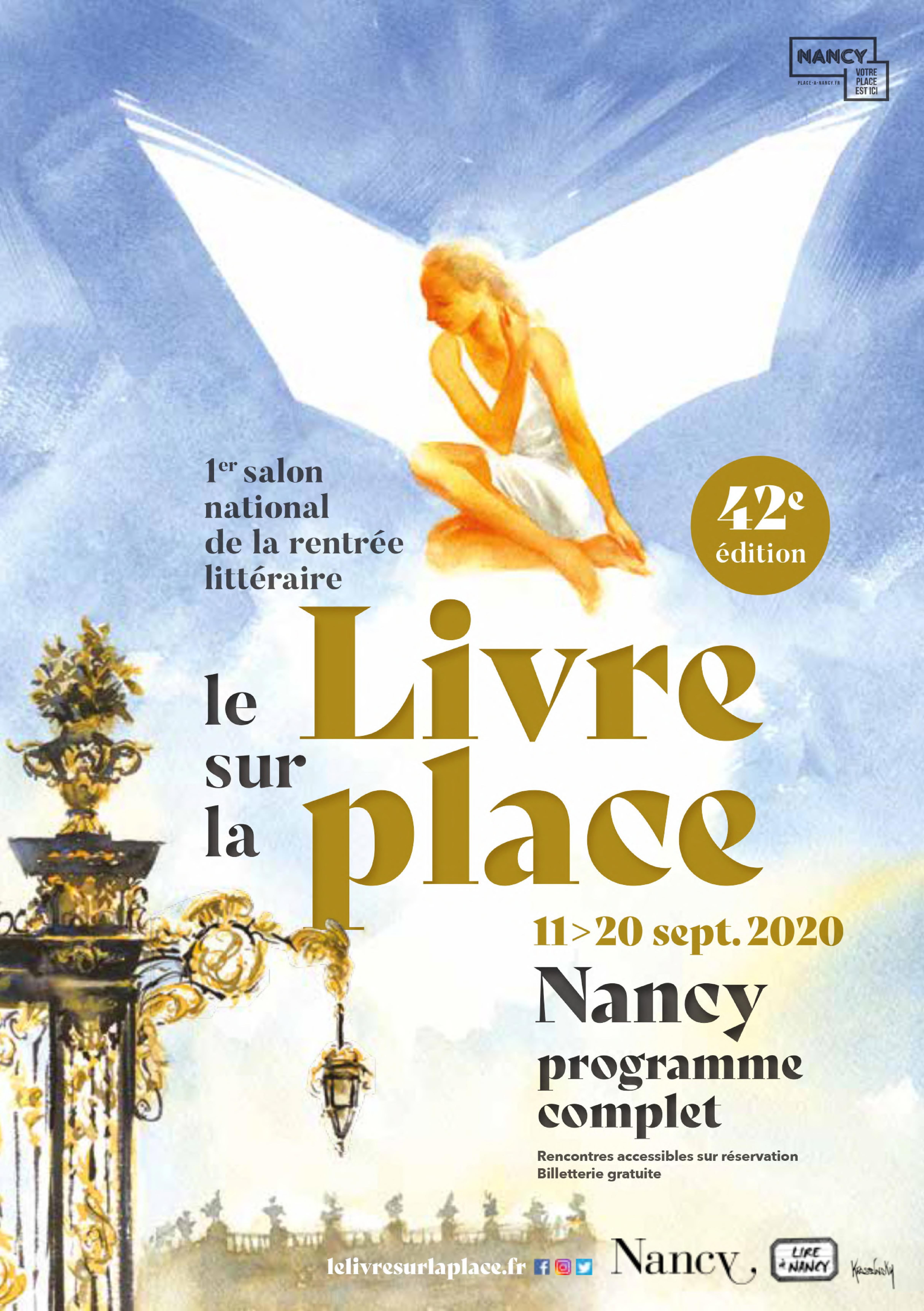 Le Livre sur la place Nancy 2020 Lorraine