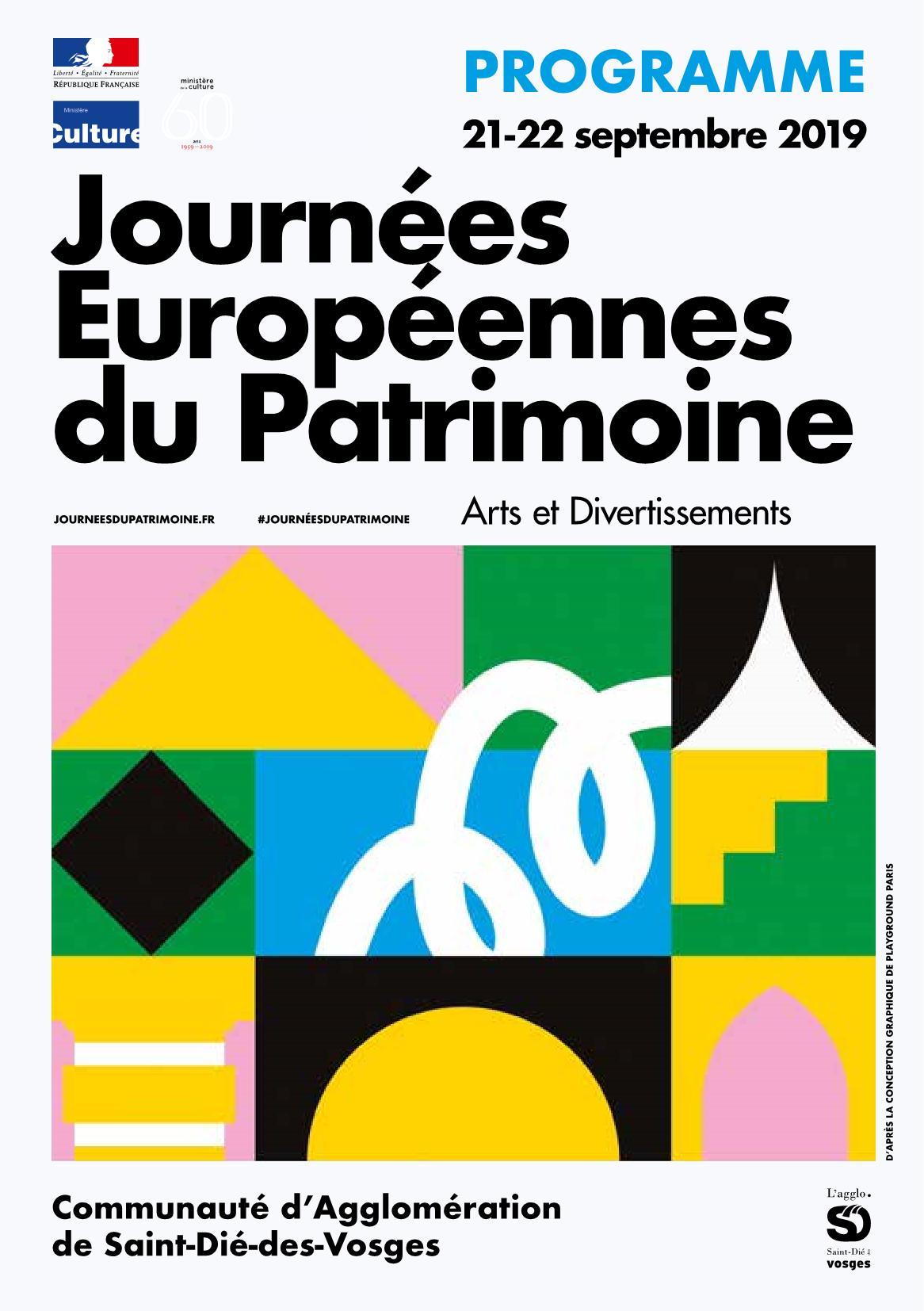 Journées du Patrimoine Saint-Dié-des-Vosges 2019