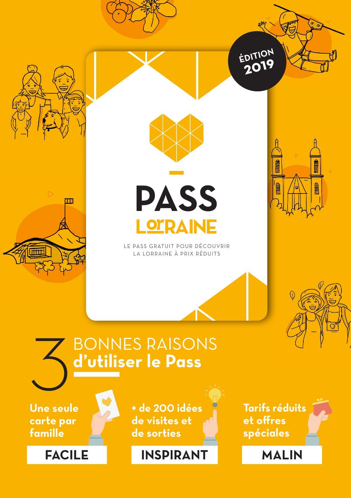 Pass Lorraine Gratuit : Bons Plans et Réductions Edition 2019