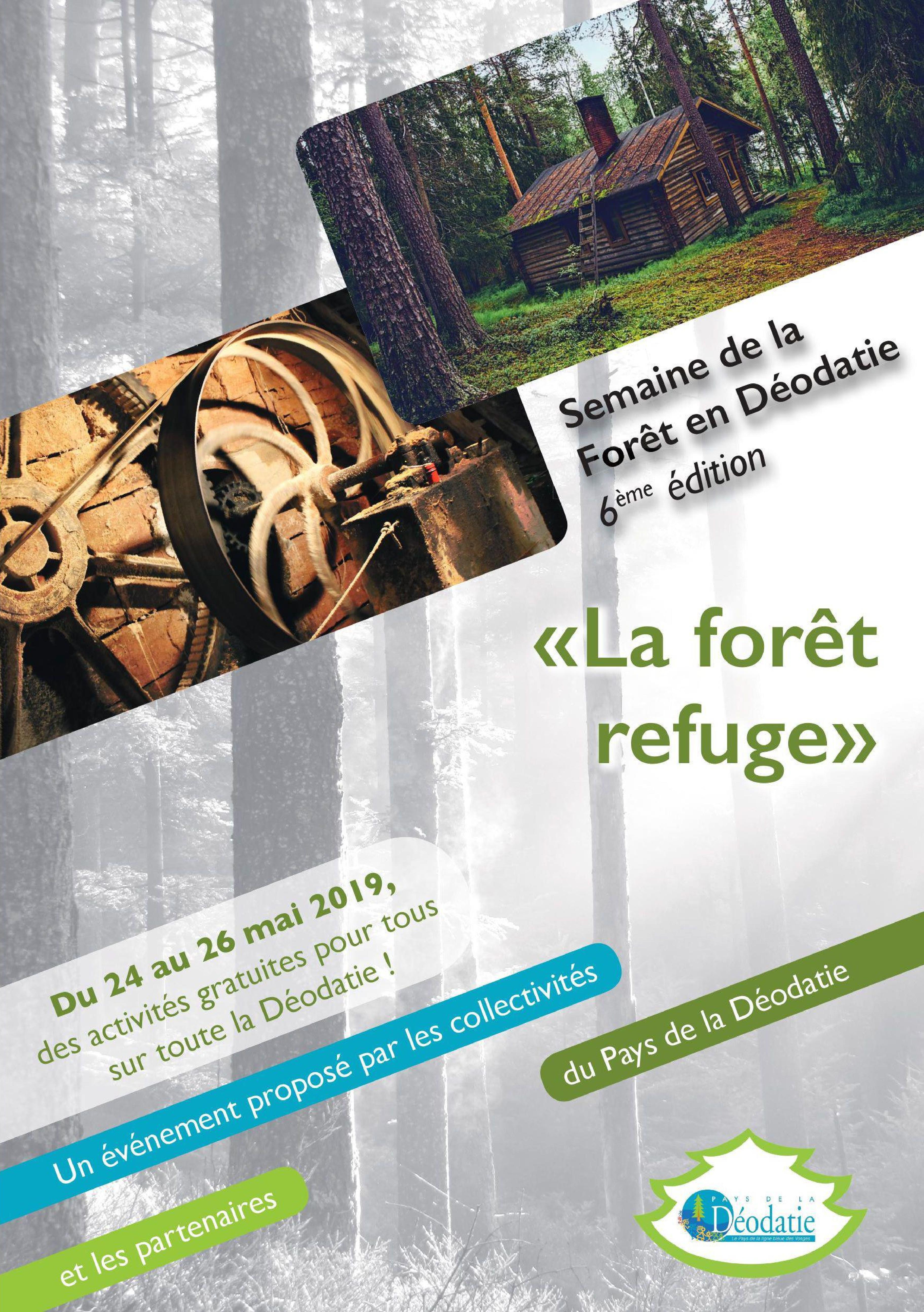 Semaine de la Forêt 2019 Déodatie Saint-Dié-des-Vosges