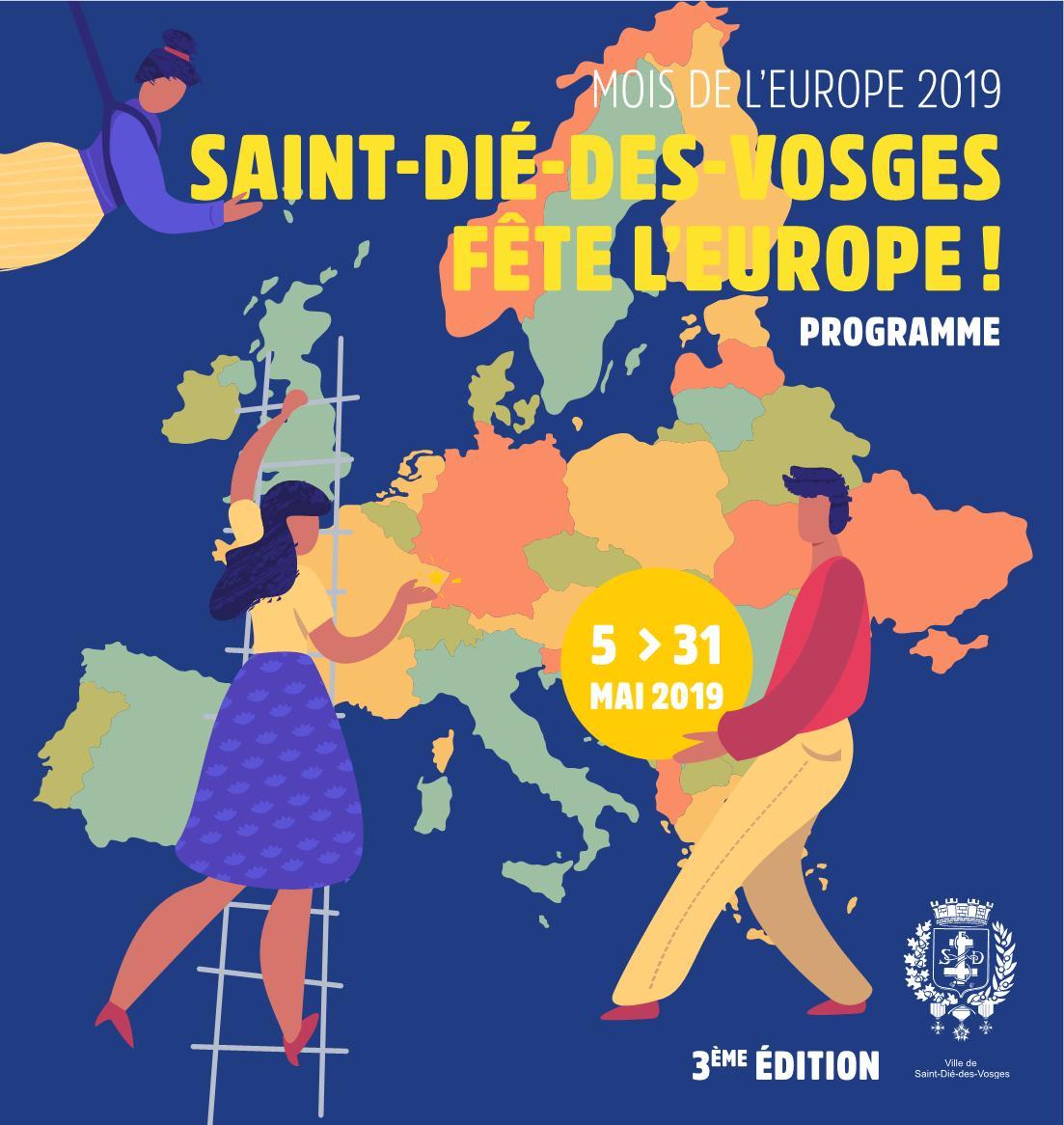 Saint-Dié-des-Vosges Fête l'Europe 2019