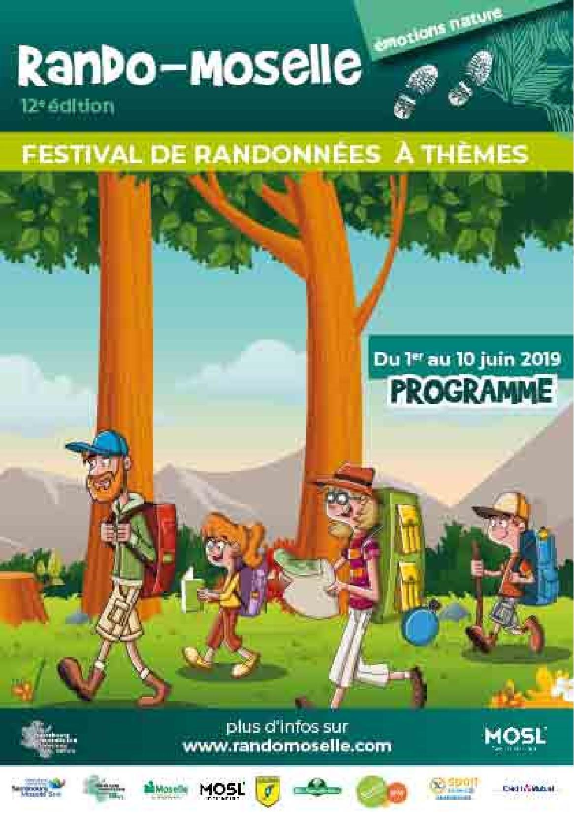 Rando-Moselle Festival Randonnées à Thèmes et Gourmandes 2019