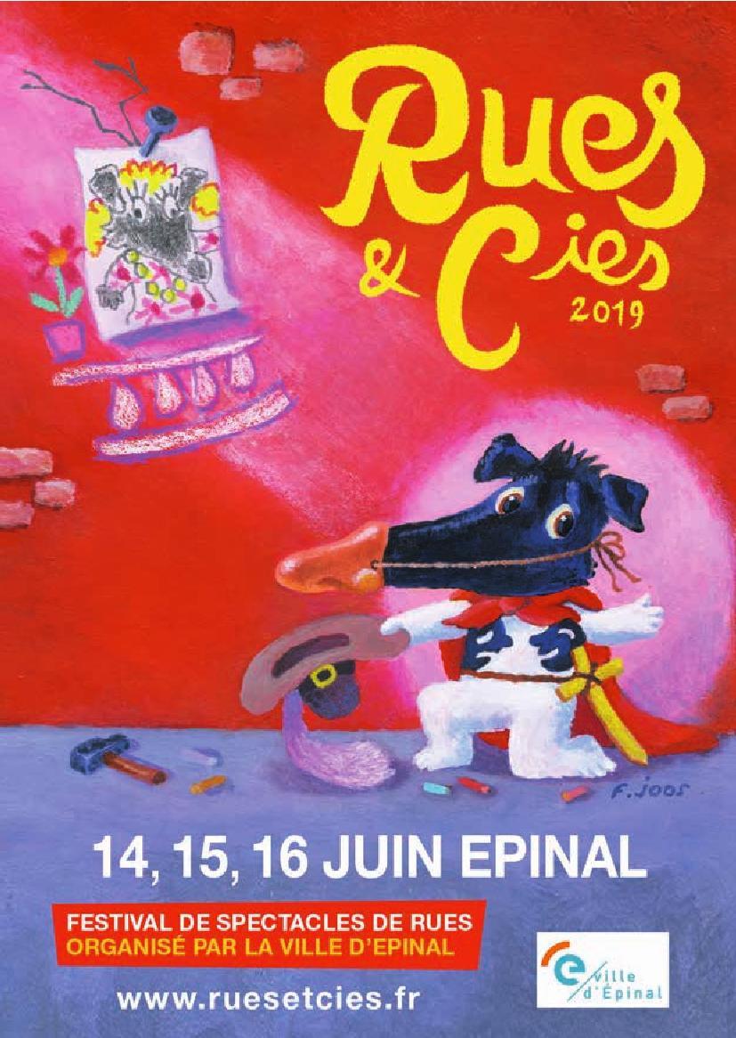 Festival Rues et Cies à Epinal 2019