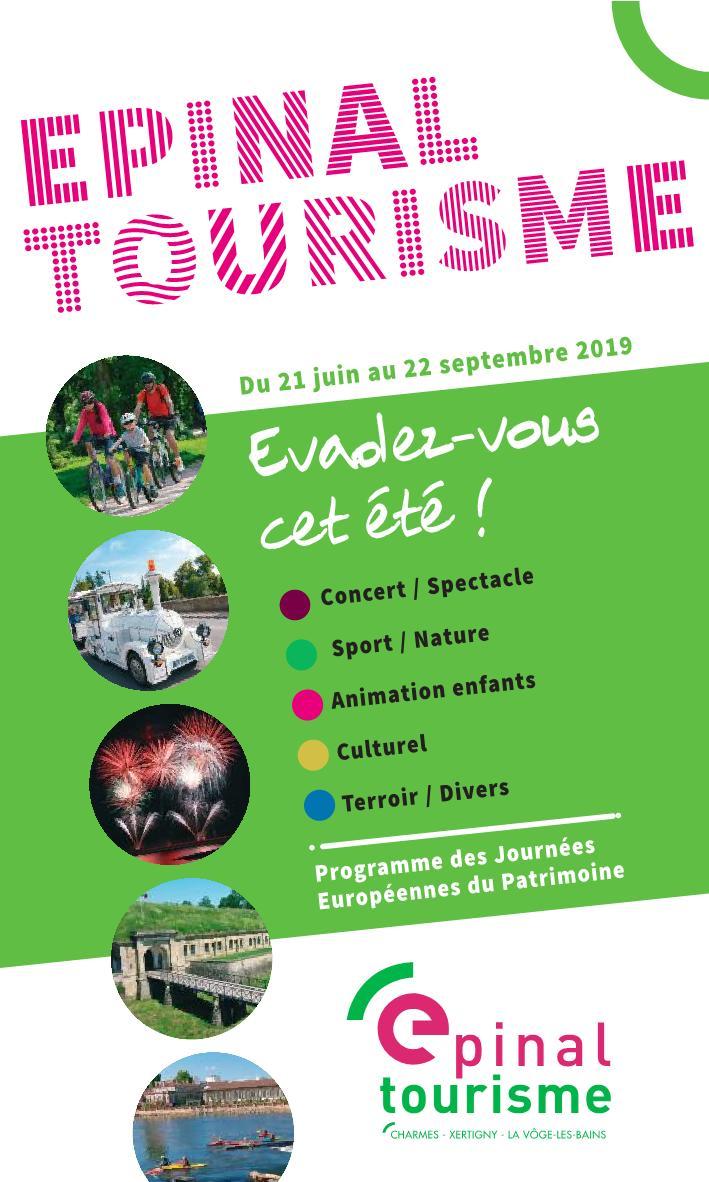 Epinal Tourisme Saison Estivale 2019