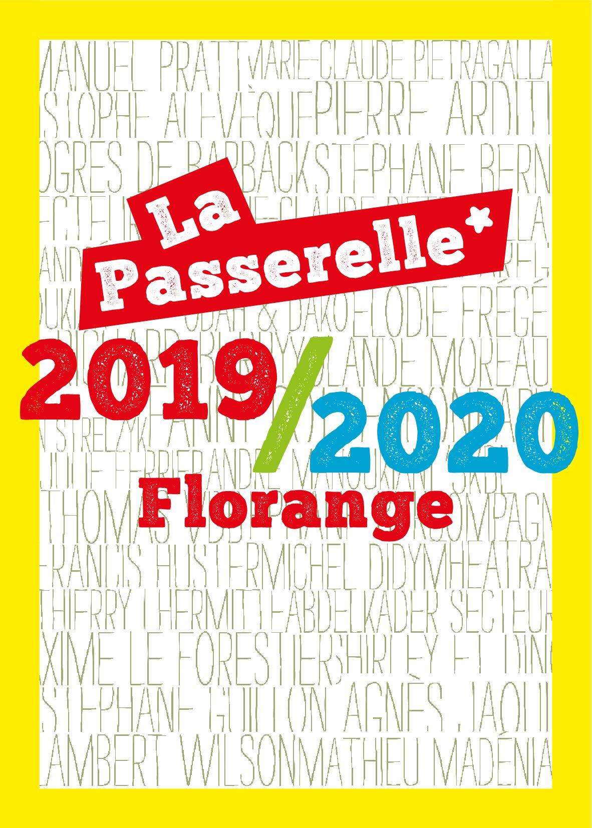 Saison culturelle 2019-2020 La Passerelle Florange