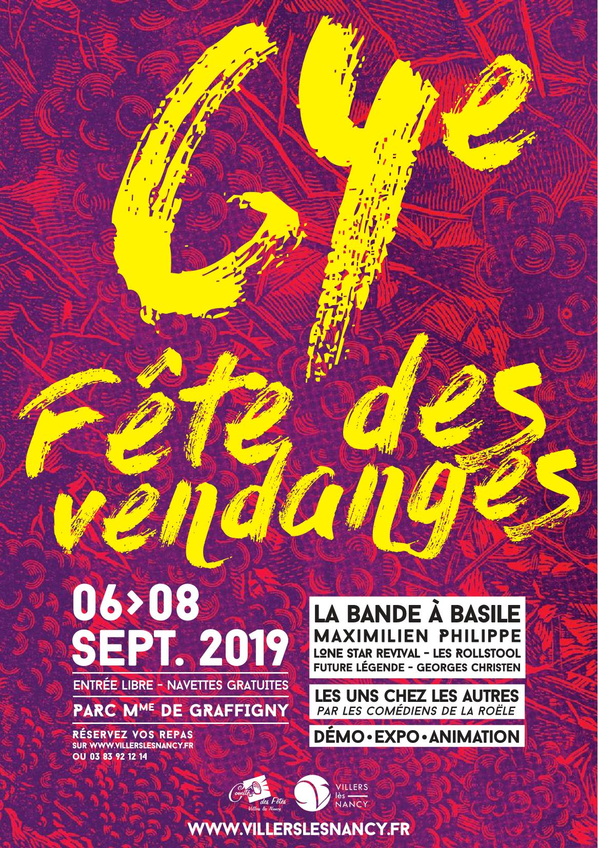 Fête des Vendanges 2019 Villers-lès-Nancy Demo Expo Animation