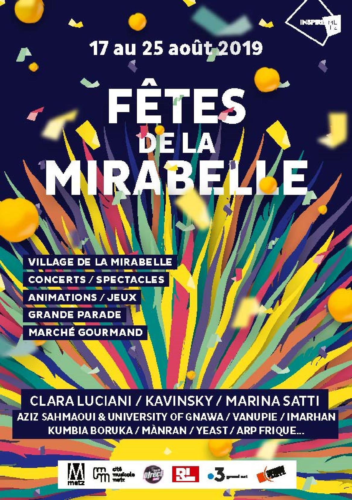 Fête de la Mirabelle Metz 2019